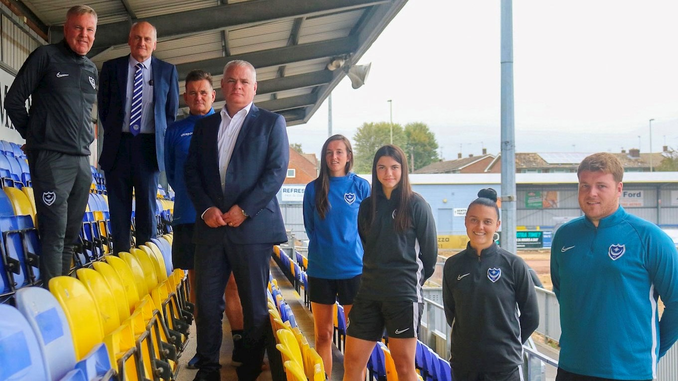 Pompey Women to play at Havant & Waterlooville's Westleigh Park