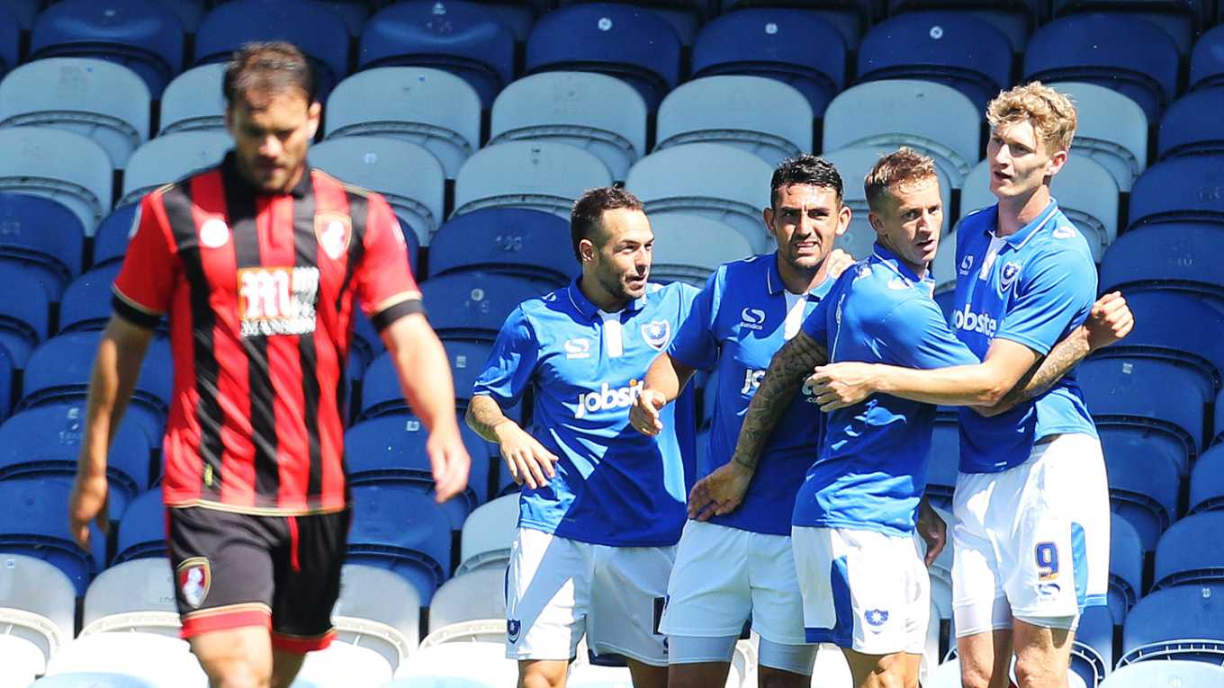Bournemouth v Pompey pre-season friendly at Fratton Park