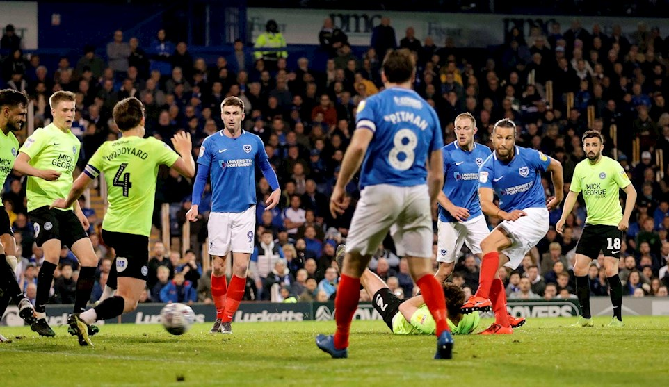 Portsmouth vs Peterborough United on 30 Apr 19 - Match Centre