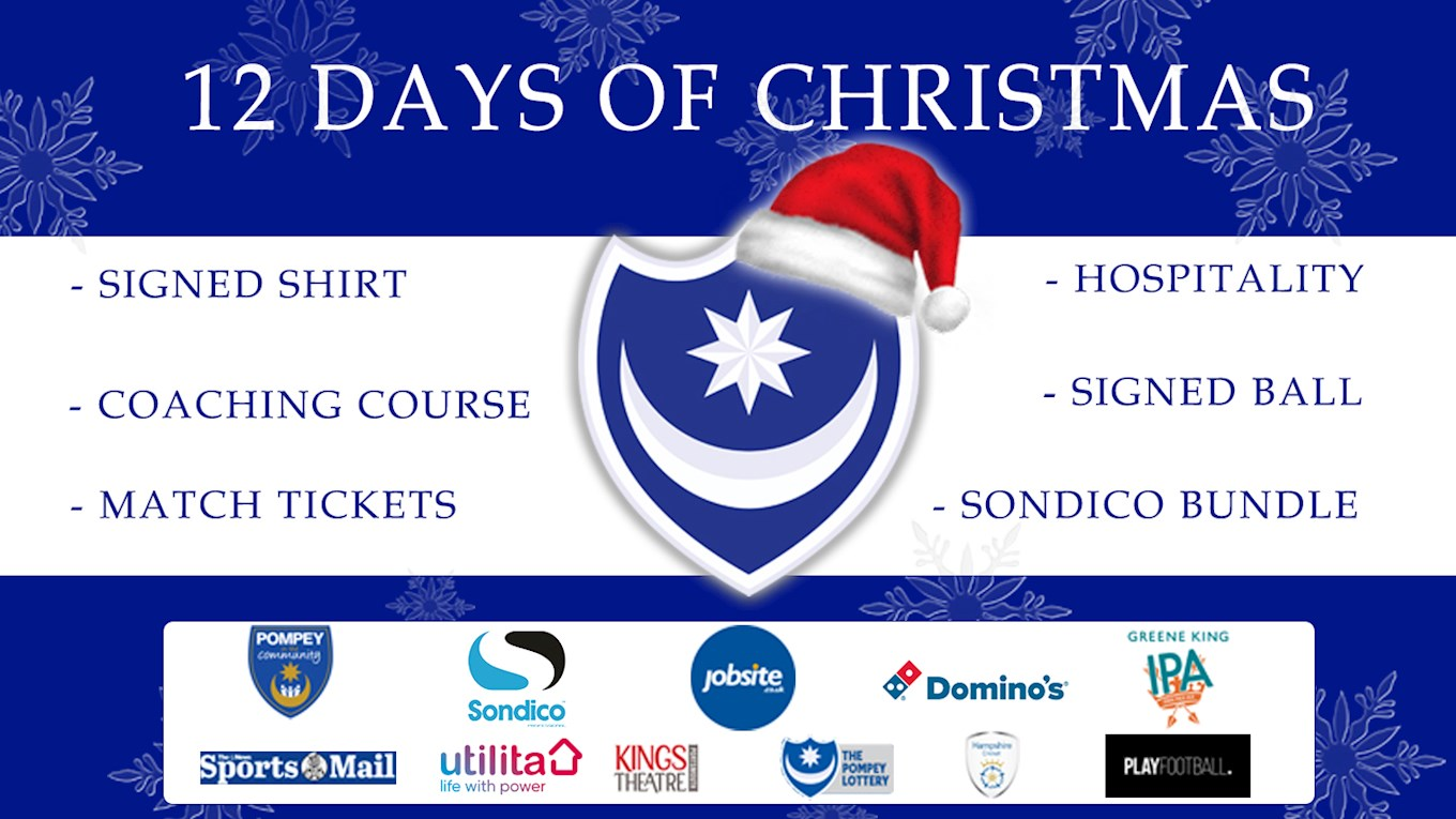 Pompey's 12 days of Christmas