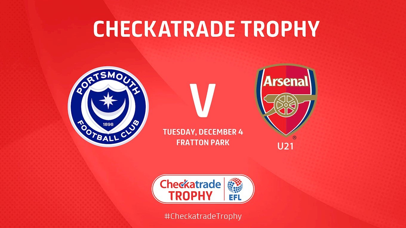 Pompey v Arsenal U21