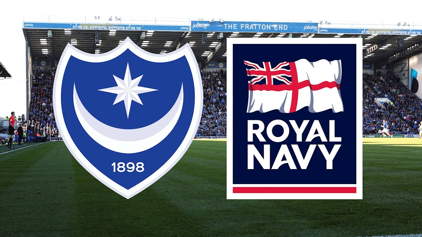 Pompey link up with HMS Collingwood