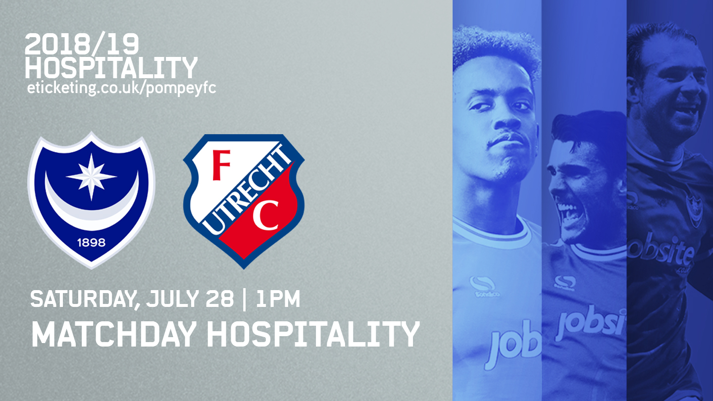 Hospitality Available For Utrecht Friendly - News - Portsmouth