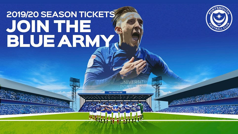 2019/20 Season Tickets: Sold Out - News - Portsmouth