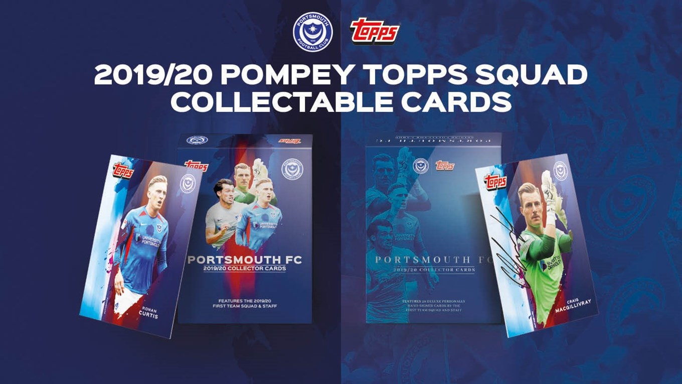 Pompey Topps cards