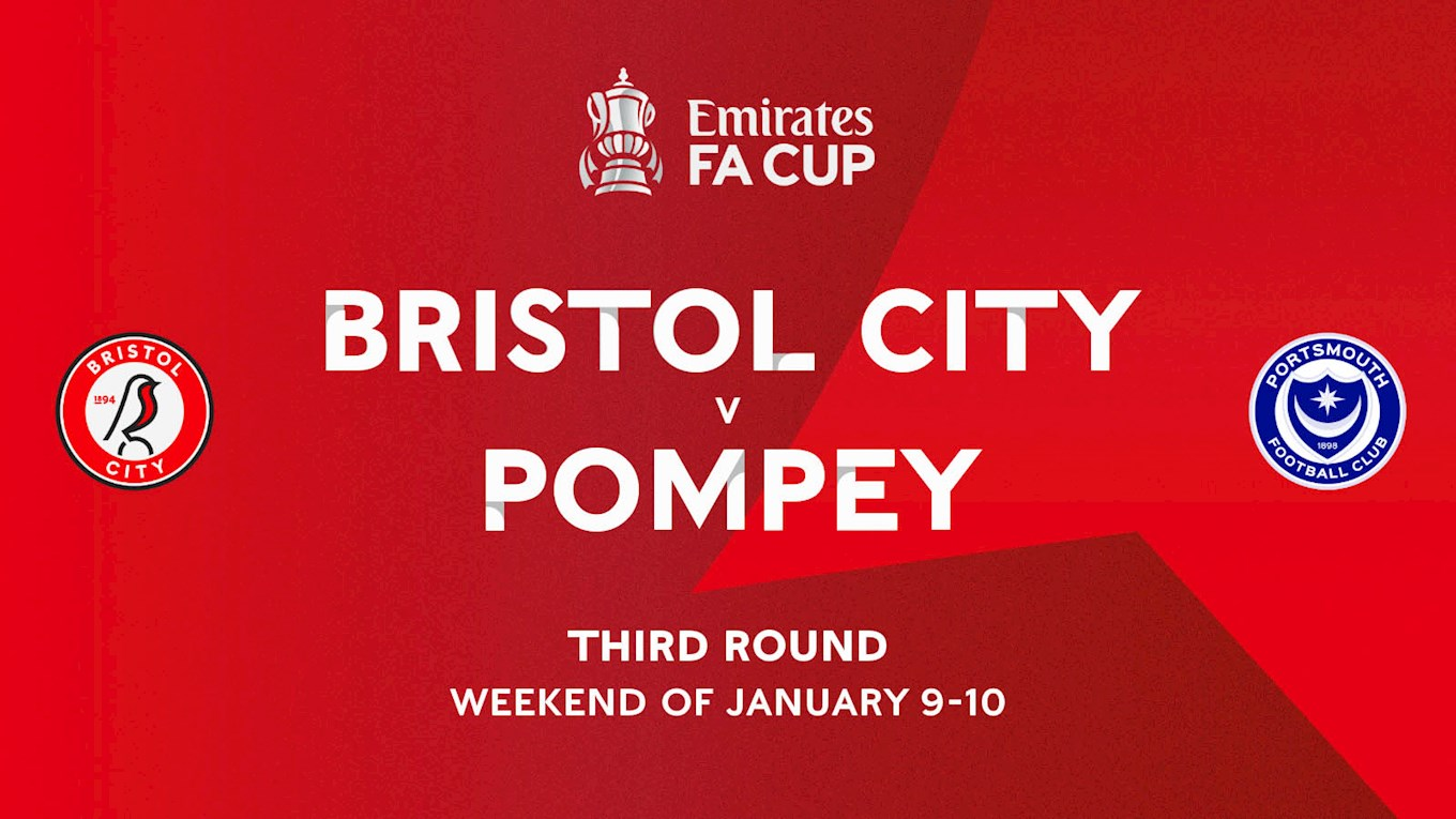 Blues Away To Bristol City In FA Cup - News - Portsmouth