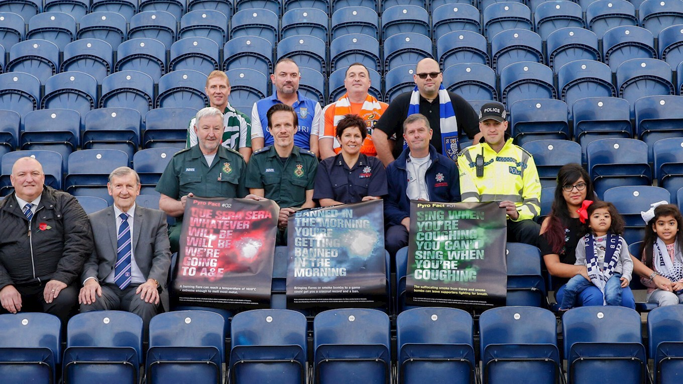 EFL tackling pyrotechnic problem
