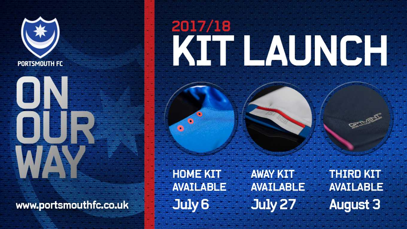 Pompey 2017/18 Kit Launch