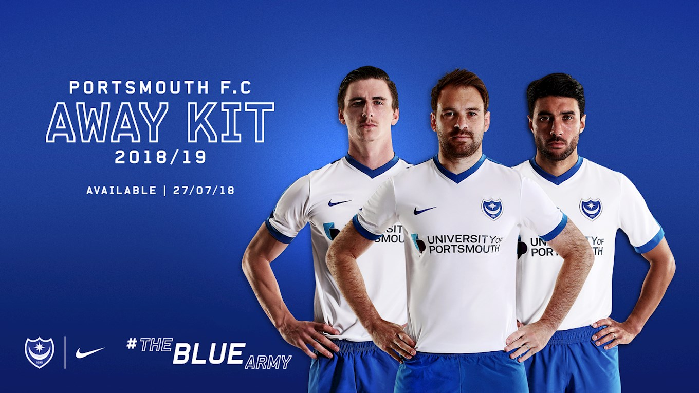 Pompey's 2018/19 away kit