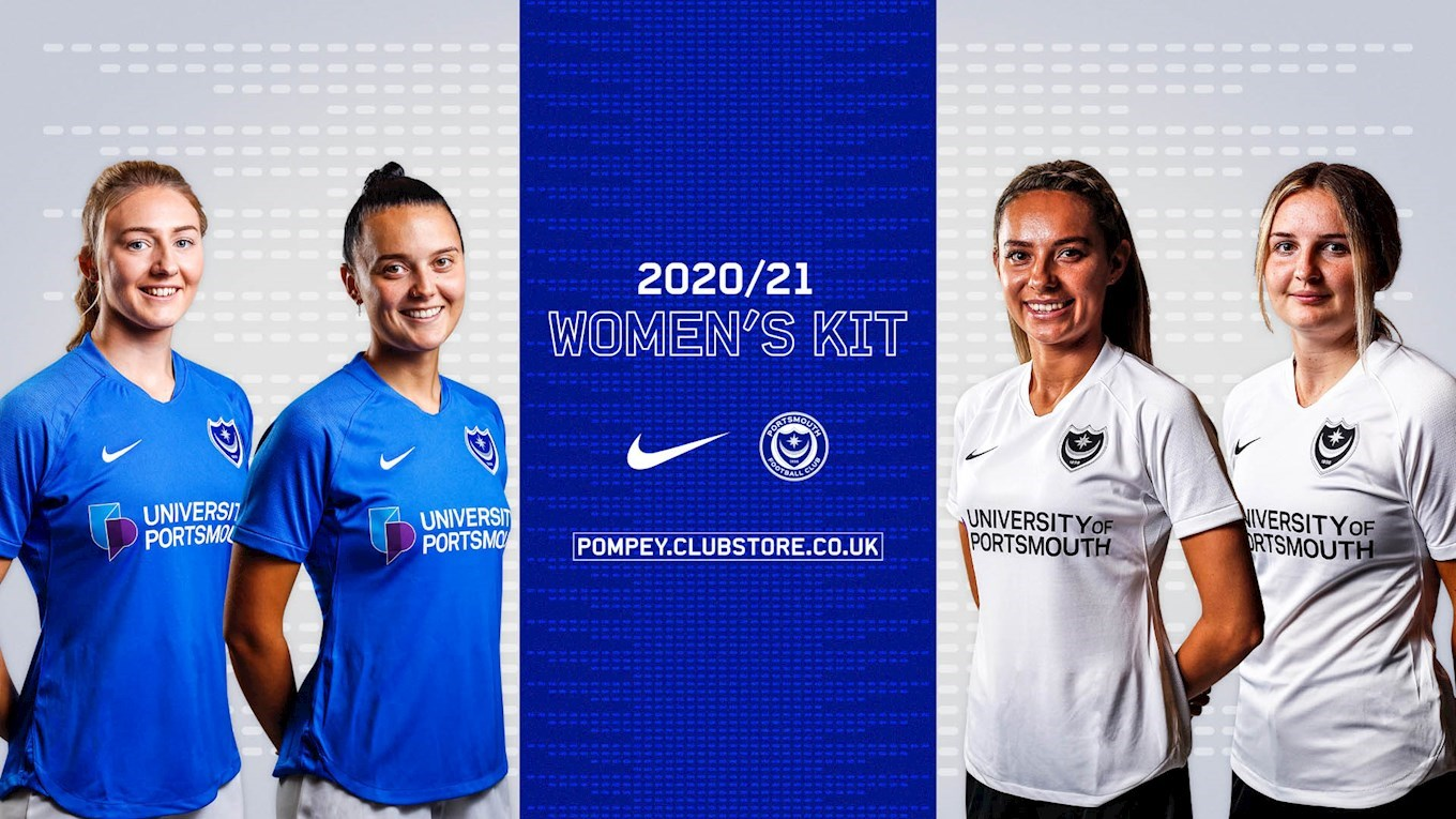 Pompey Women kit