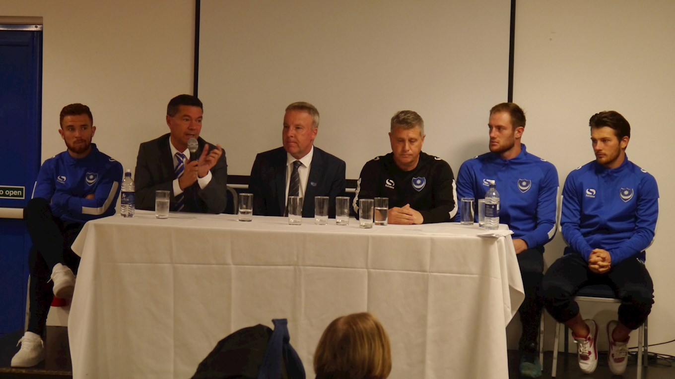 Pompey Lottery event