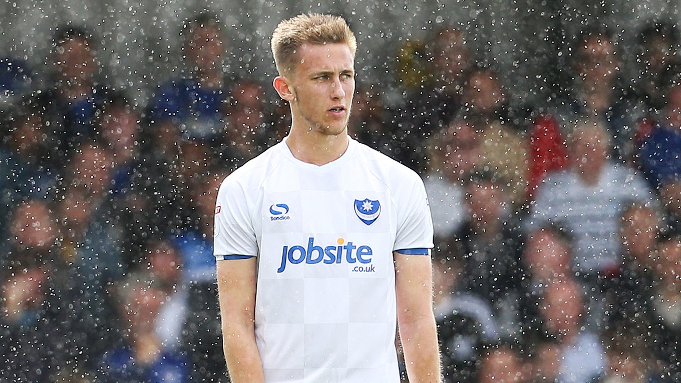 Pompey midfielder Adam May