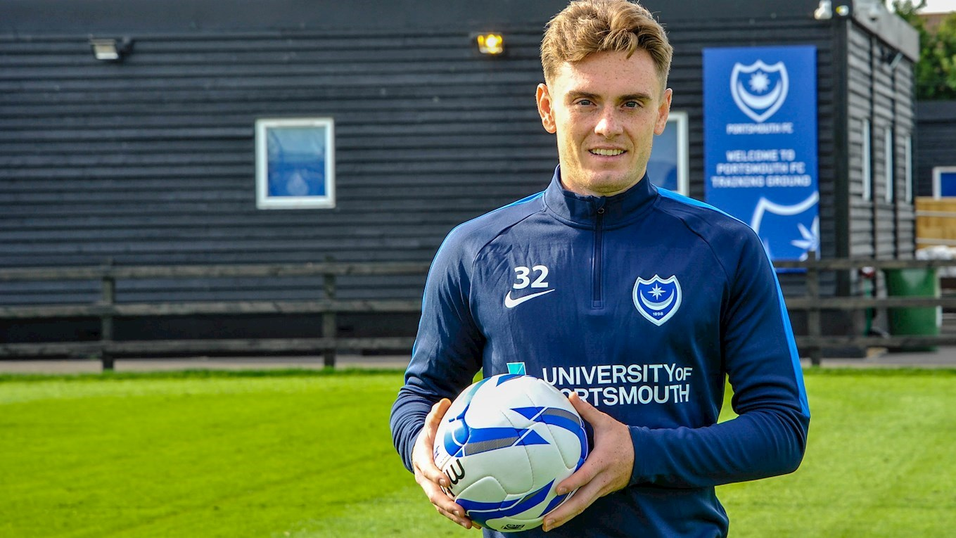 Ben Thompson signs for Pompey