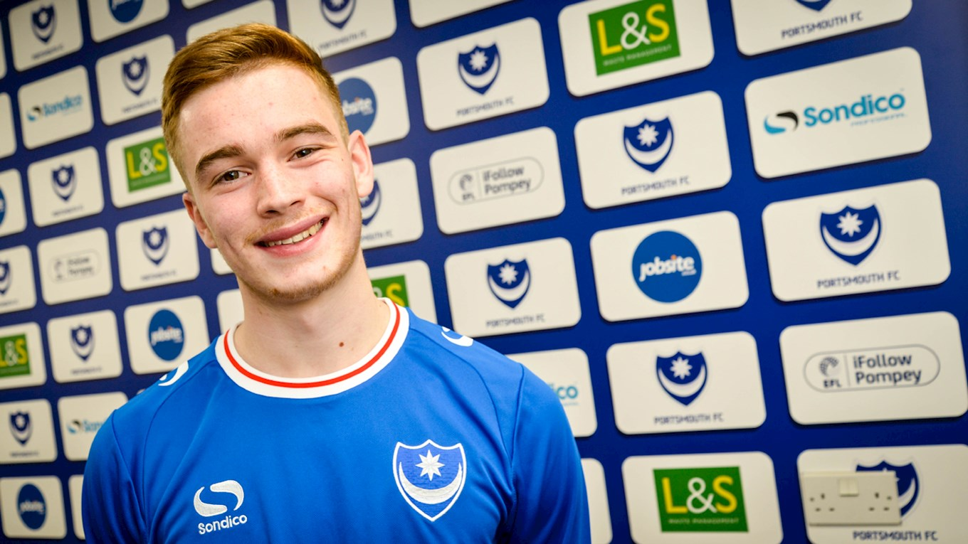 Pompey sign Connor Ronan