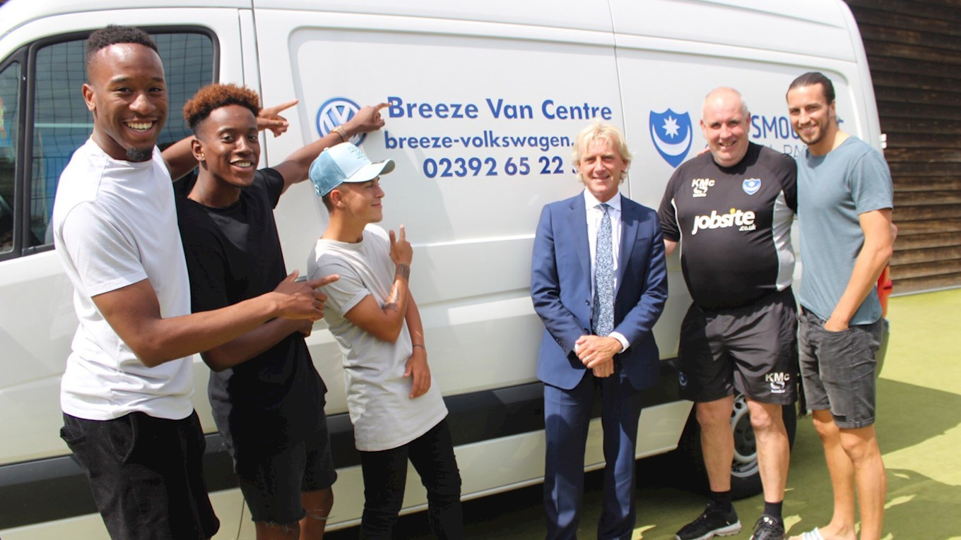 Breeze Volkswagen extend Pompey deal