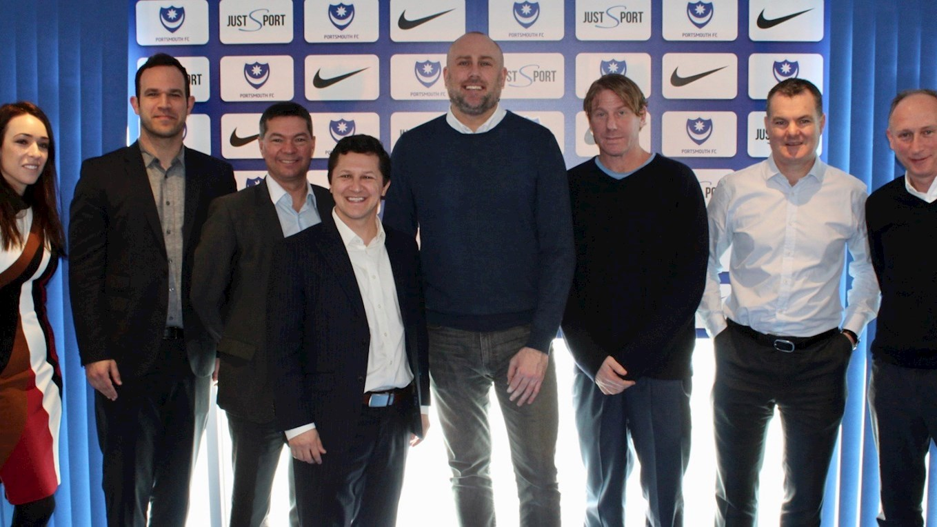 Pompey announce Nike as club's new kit supplier