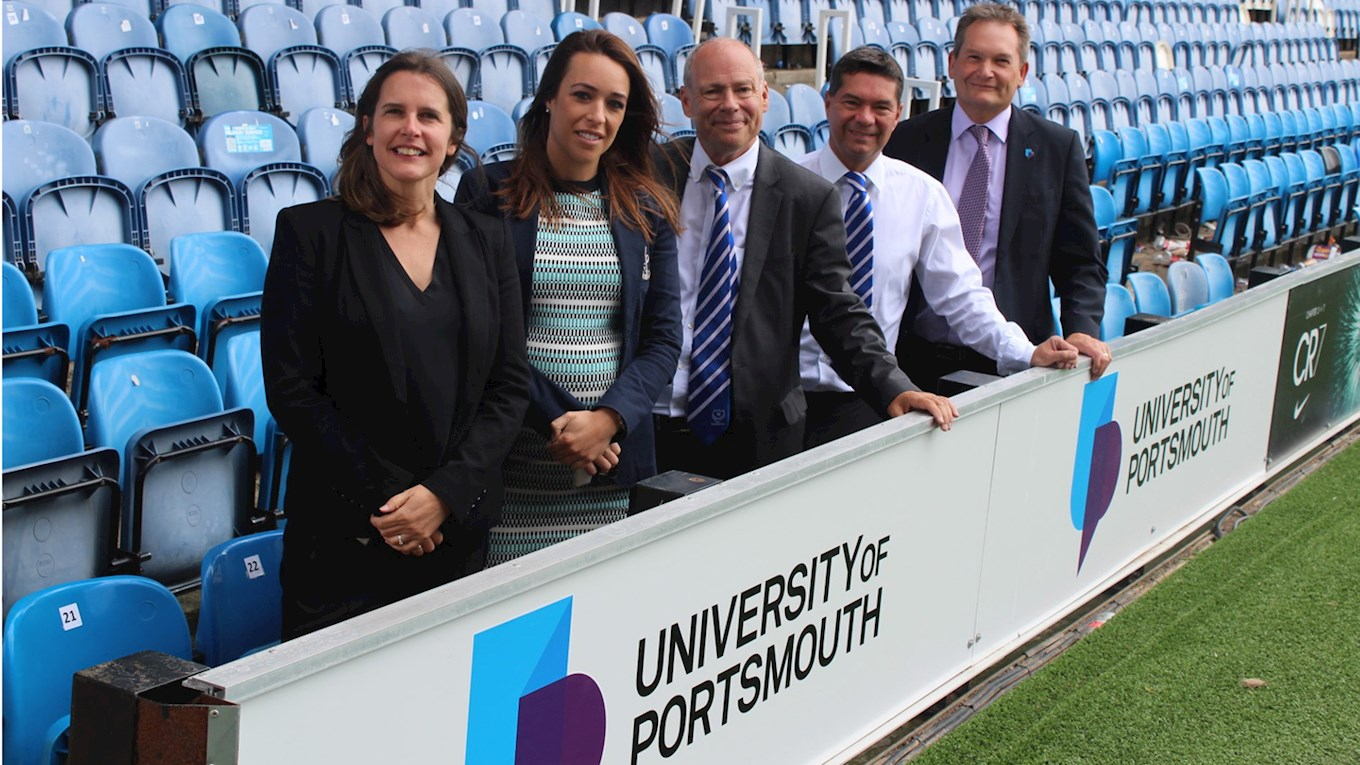 University of Portsmouth partnership with Portsmouth FC