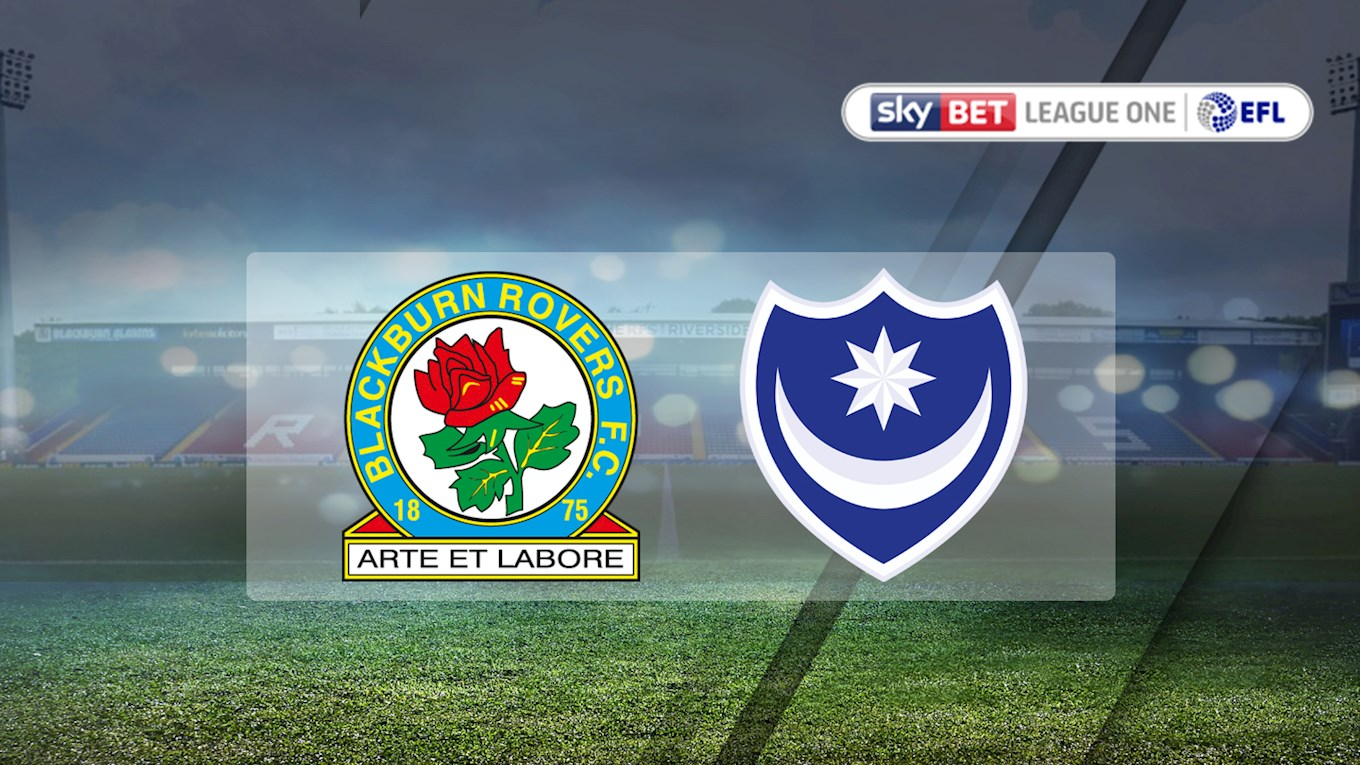 Blackburn Rovers v Pompey