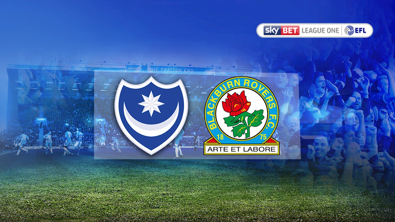 Pompey v Blackburn Rovers