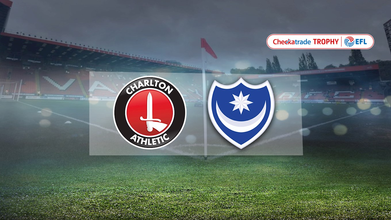 Charlton Athletic v Pompey