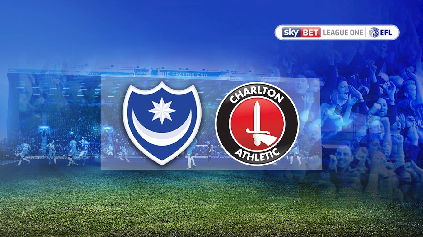 Pompey v Charlton Athletic
