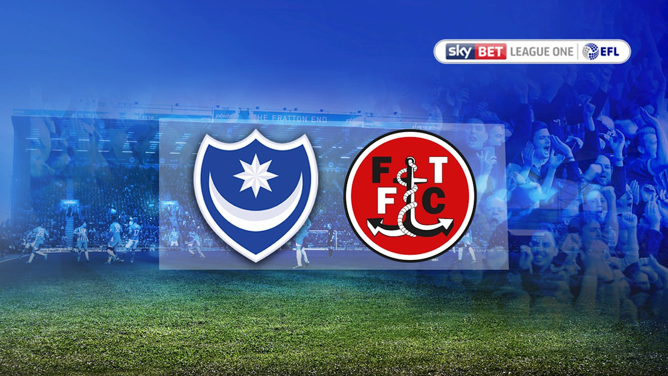 Pompey v Fleetwood Town