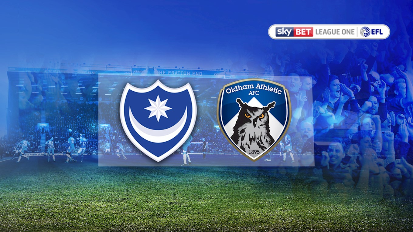 Pompey v Oldham Athletic