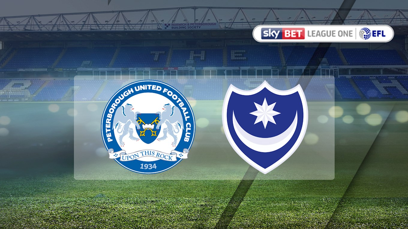 Peterborough United v Pompey