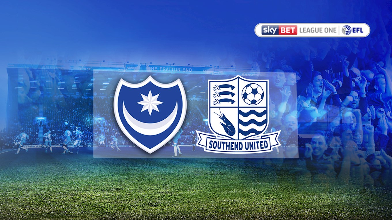 Pompey v Southend United