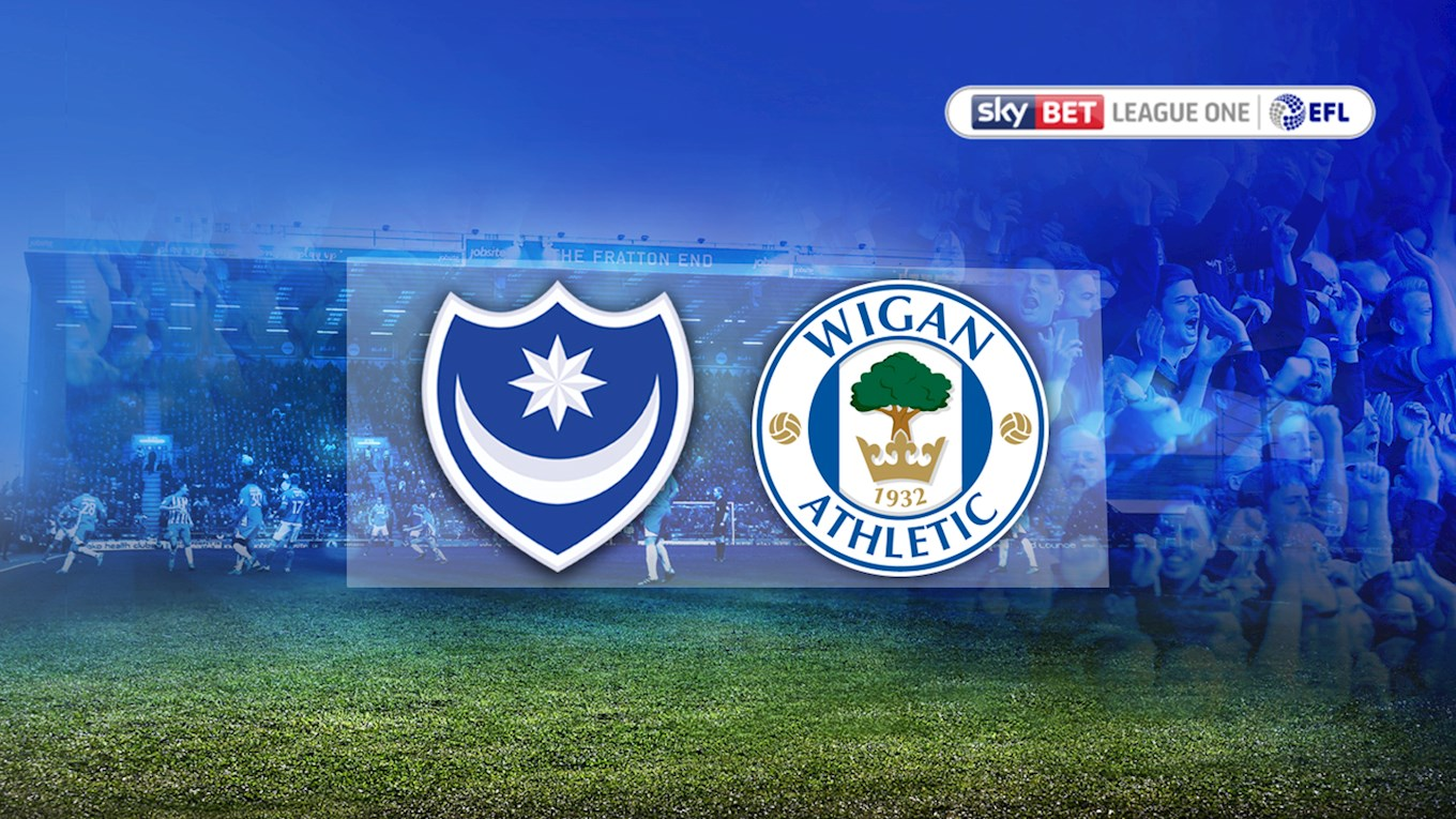 Pompey v Wigan Athletic