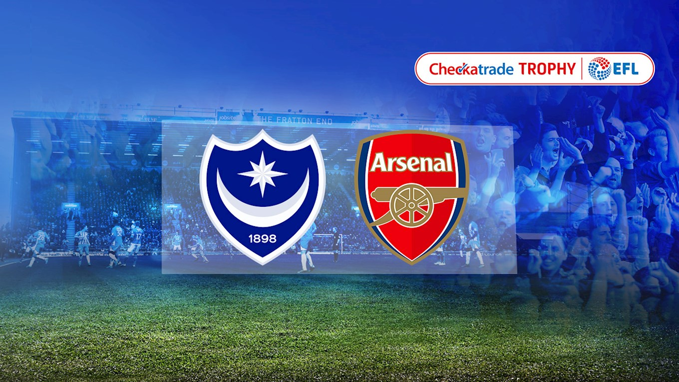 Pompey v Arsenal
