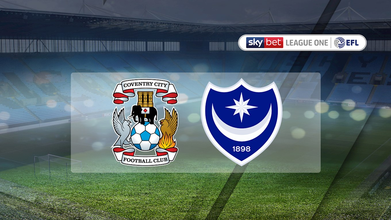 Coventry v Pompey