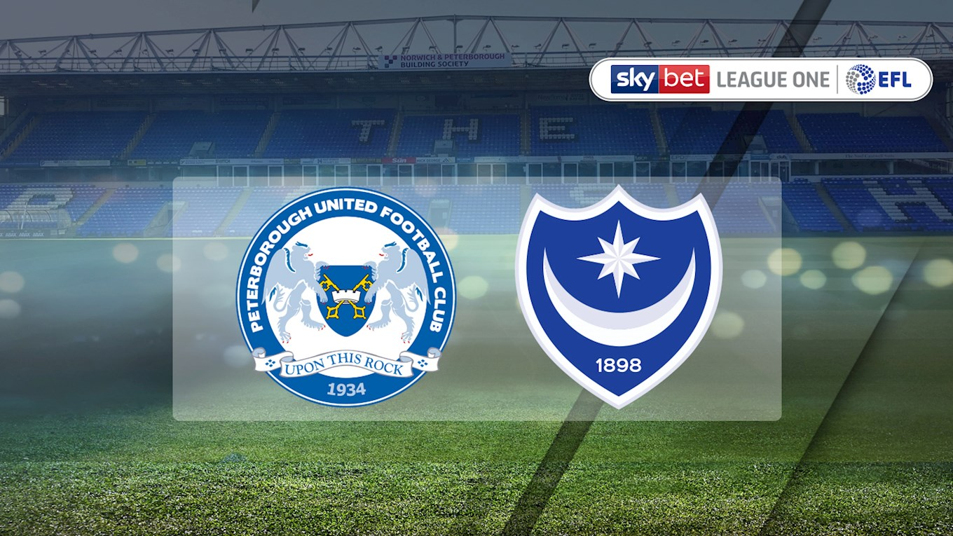 Peterborough v Pompey