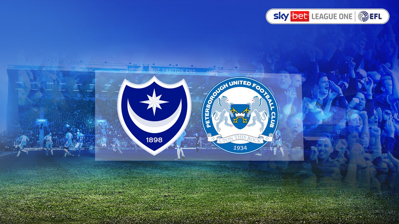 Pompey v Peterborough United