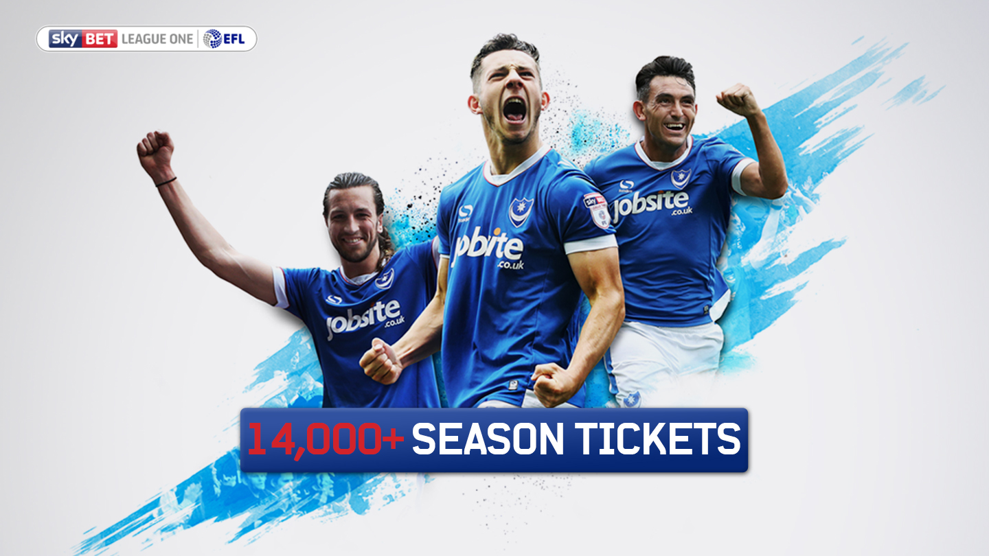 Season Tickets Moving Seats News Portsmouth