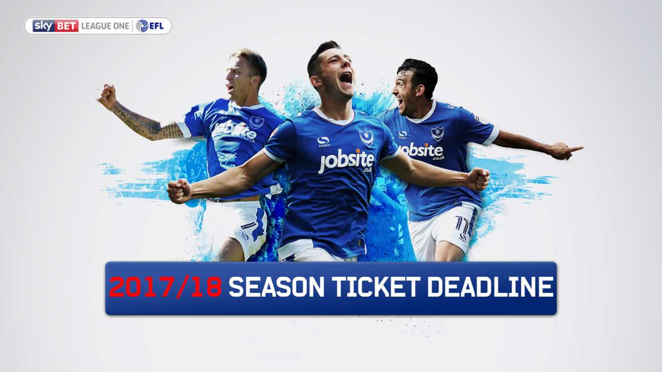 Pompey season tickets