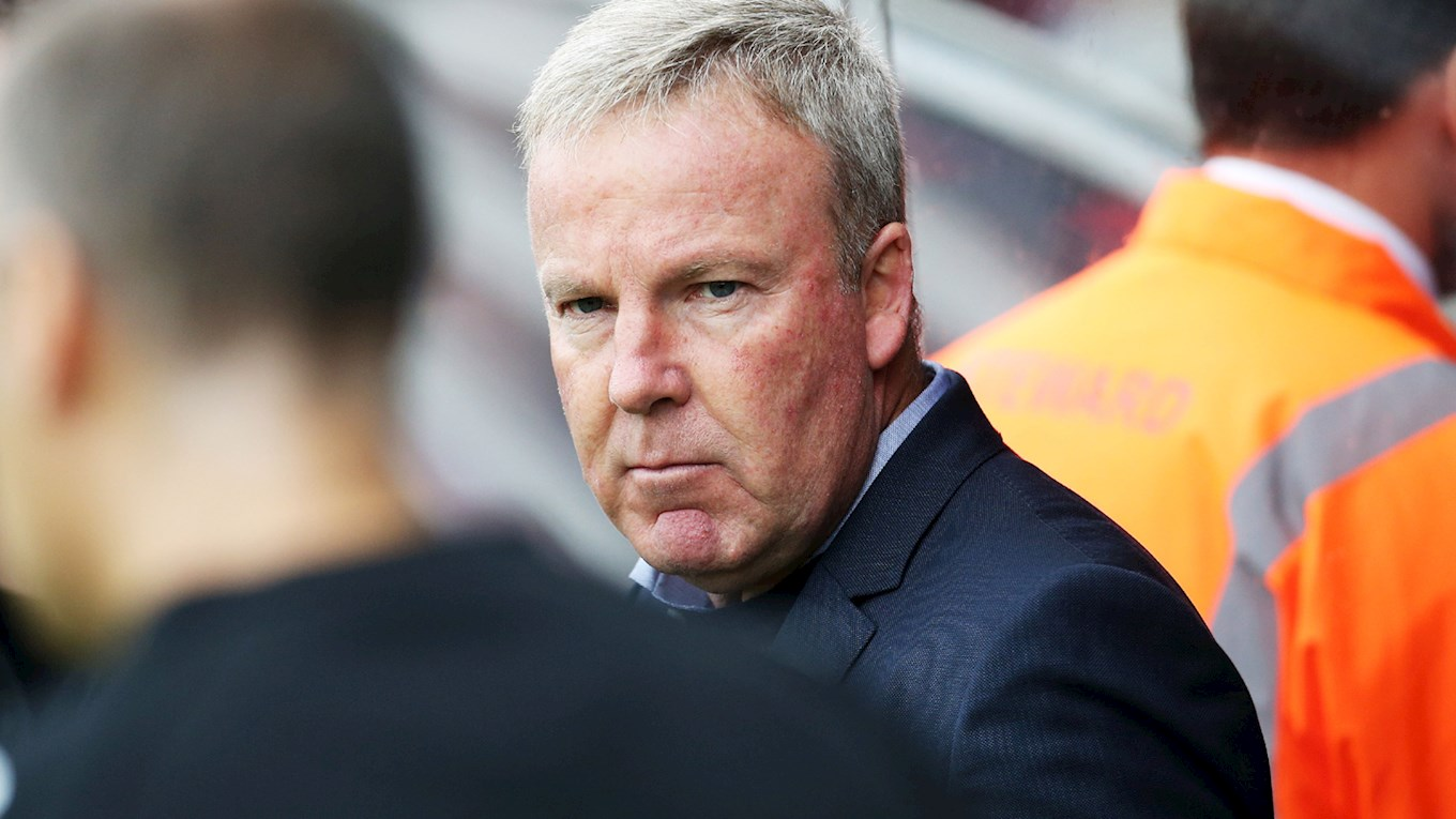 Pompey manager Kenny Jackett