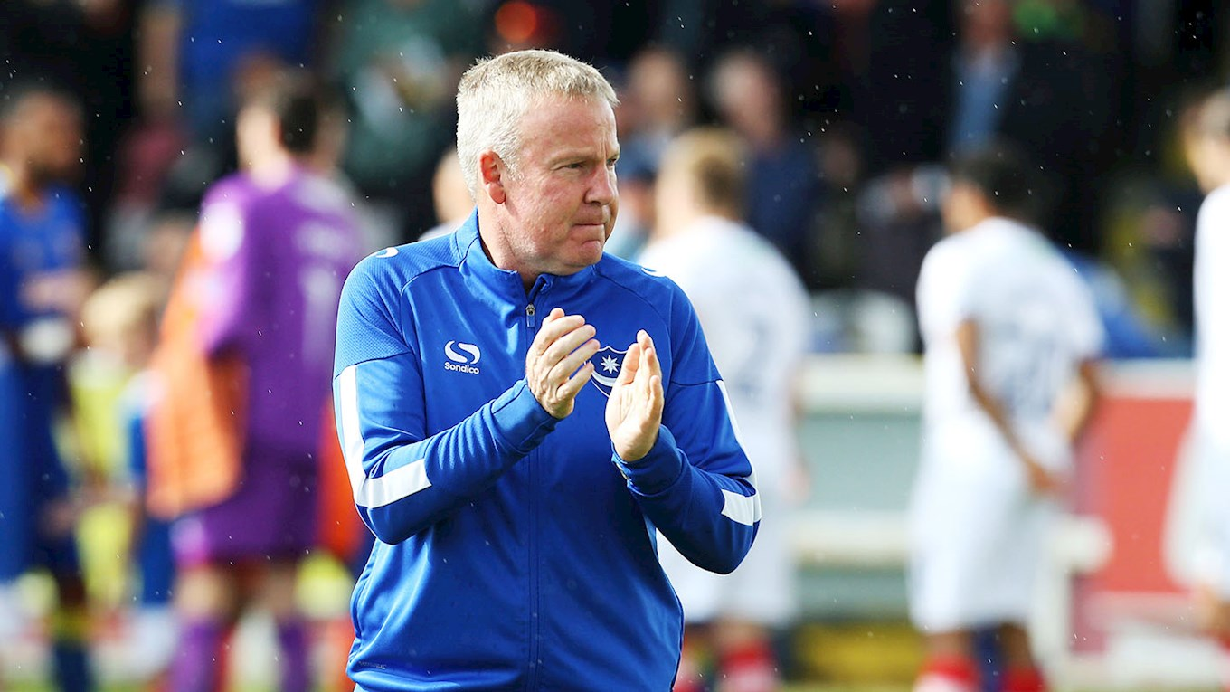 Pompey boss Kenny Jackett