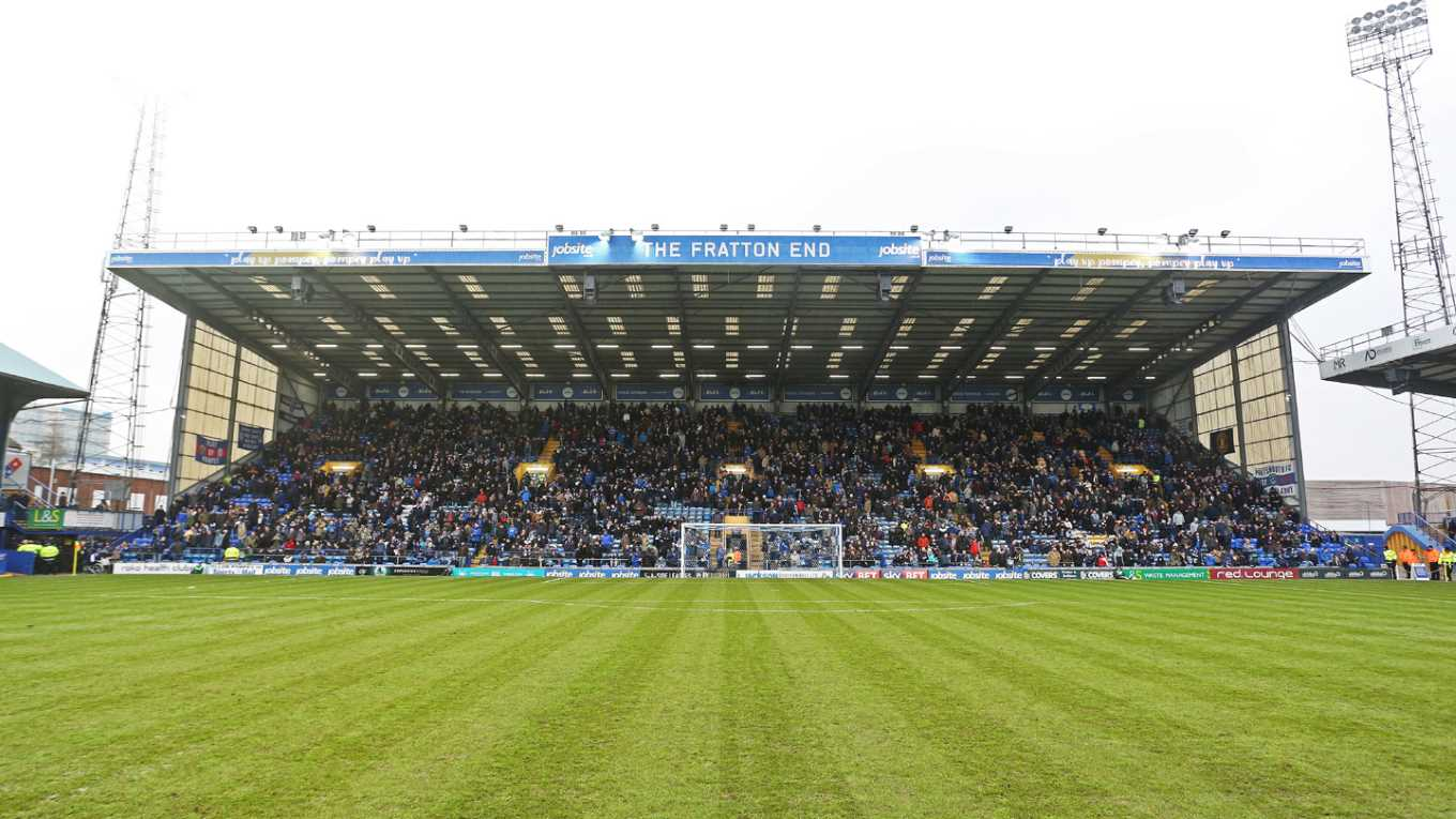 View of the Fratton End at Fratton Park