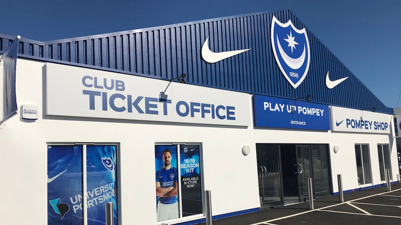 Pompey ticket office